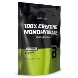 100% Creatine Monohydrate, 500 g, Biotech