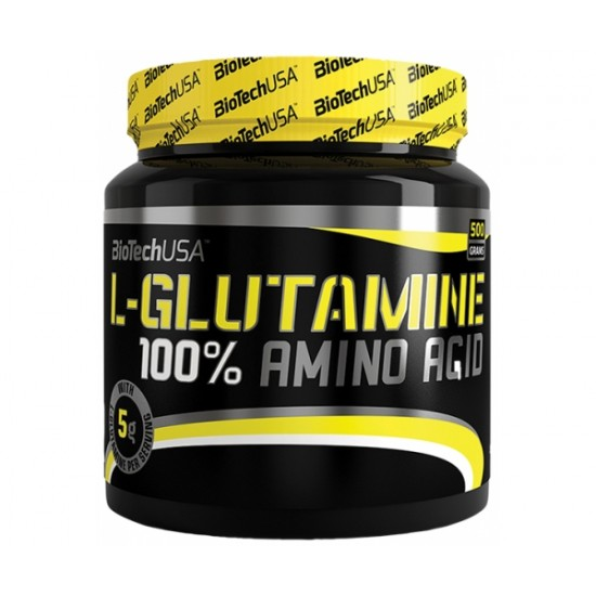 100% L-Glutamine, 500 g, Biotech