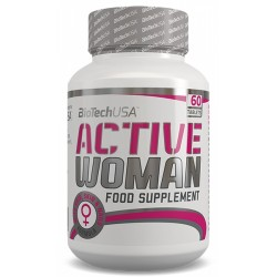 Active Woman, 60 tablete, Biotech