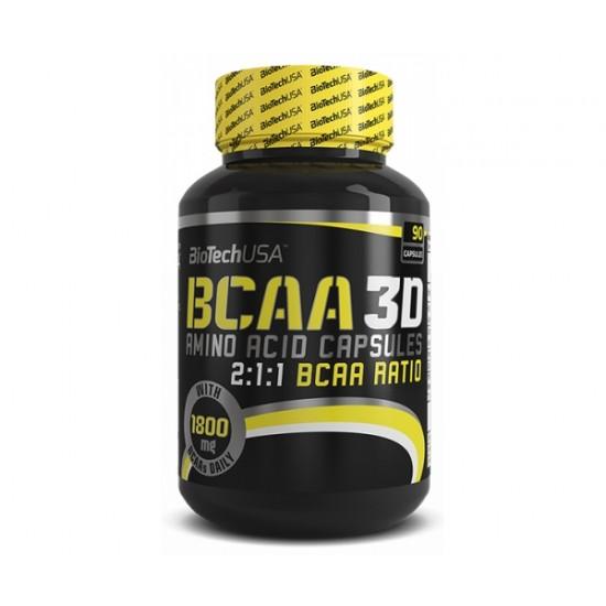 BCAA 3D, 90 capsule