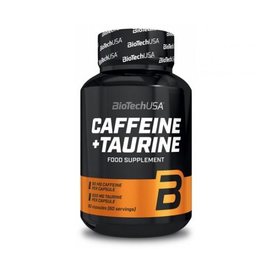 Caffeine & Taurine, 60 capsule, Biotech