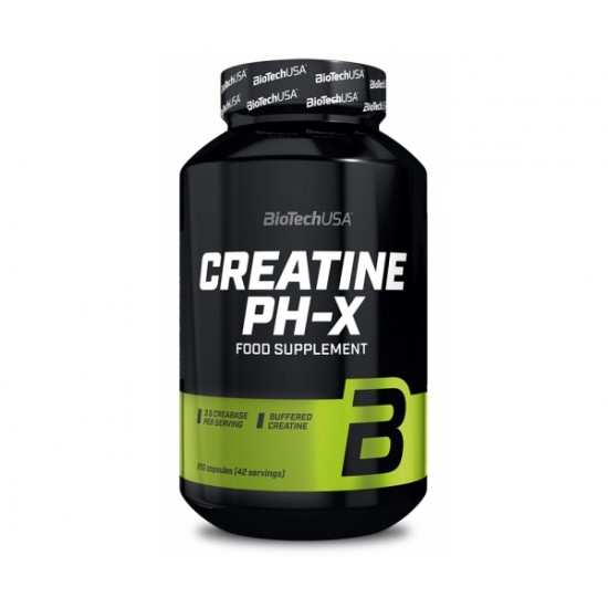 Creatine pH-X, 210 capsule, Biotech