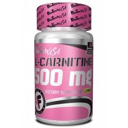 L-Carnitine 500 mg, 60 tablete, Biotech