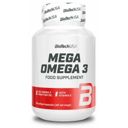 Mega Omega 3, 90 capsule, Biotech