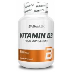 Vitamin D3, 60 tablete, Biotech