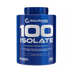 100 Isolate, 2000 g, Galvanize Nutrition