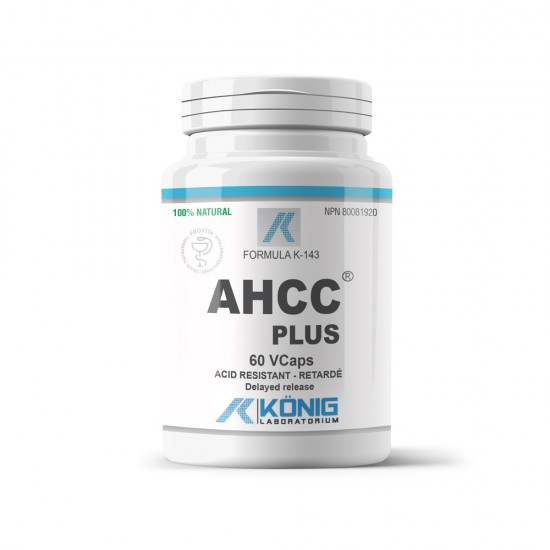 AHCC plus forte, 60 caps, Konig Nutrition Laboratoriums