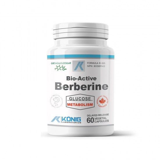 Bio-Active Berberine (Berberina), 60 caps, Konig Nutrition Laboratoriums
