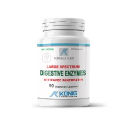 Digestive Enzymes, 90 caps, Konig Nutrition Laboratoriums