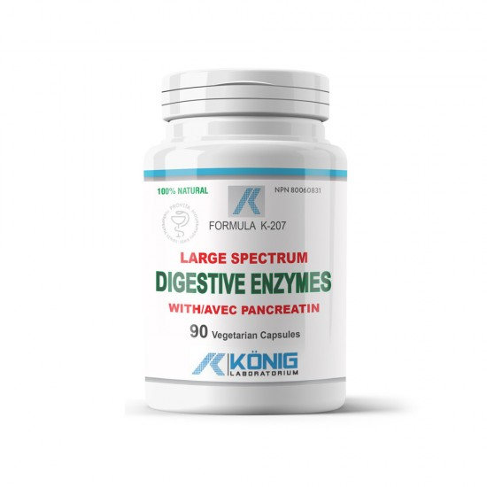 Digestive Enzymes, 90 caps, Konig Nutrition Laboratoriums