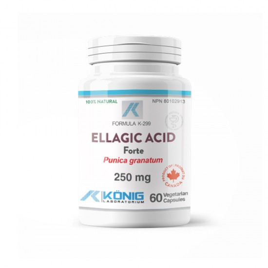 Ellagic Acid Forte 250 mg, 60 caps, Konig Laboratoriums