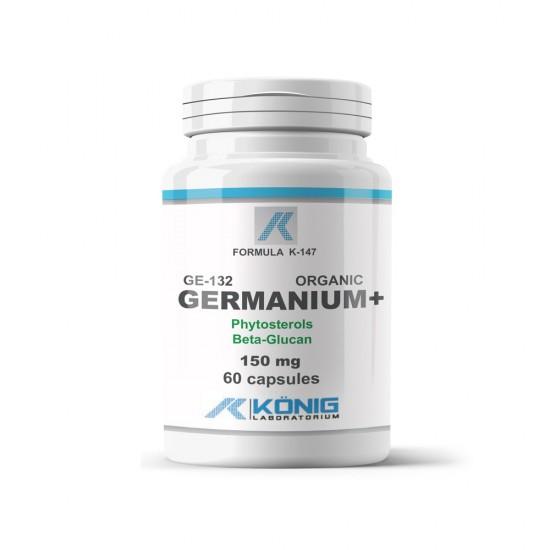 Germaniu organic GE-132, 60 Caps, Konig Nutrition Laboratoriums