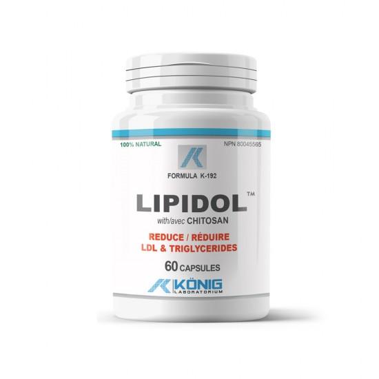 Lipidol, 60 caps, Konig Nutrition Laboratoriums