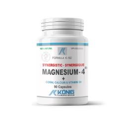 Magnesium-4™, 90 tablete, Konig Nutrition Laboratoriums