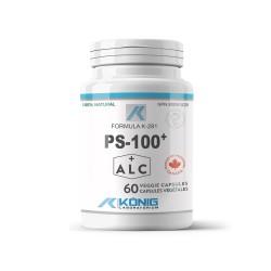 PS 100+, 60 caps, Konig Laboratoriums