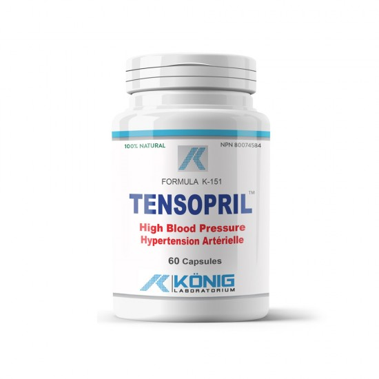 Tensopril, 60 caps, Konig Nutrition Laboratoriums