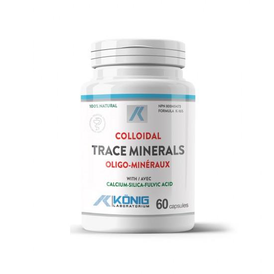 Colloidal Trace Minerals (Minerale trasoare coloidale organice cu acid fulvic), 60 caps, Konig Nutrition Laboratoriums