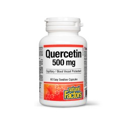 QUERCETIN 500 mg, 60 capsule, Natural Factors