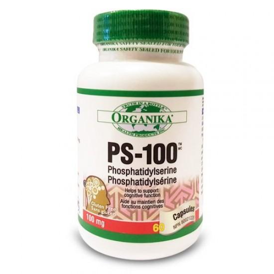 PS-100 forte (fosfatidilserina),  60 caps, Organika