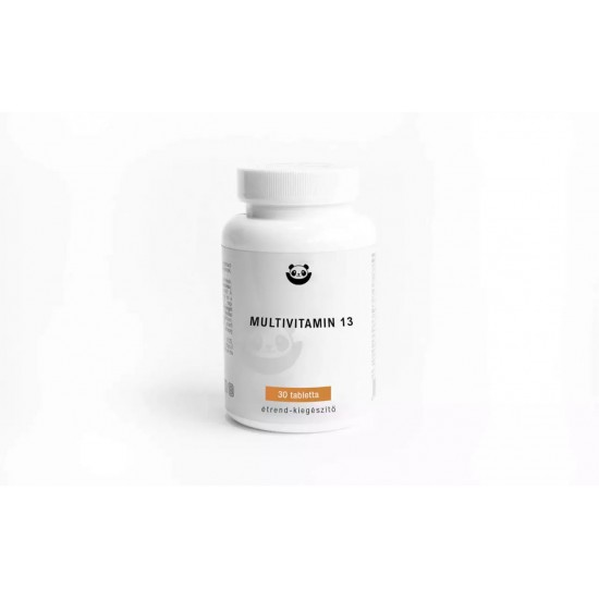Multivitamin 13, 30 caps, Panda Nutrition
