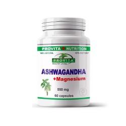 Ashwagandha cu magneziu, 60 caps, PROVITA-NUTRITION