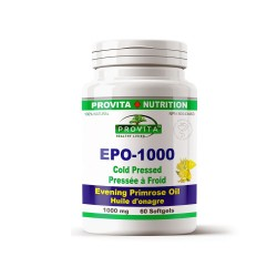 EPO 1000 – Evening Primrose Oil (Ulei de Primula) – 1000 mg, 60 caps, PROVITA-NUTRITION