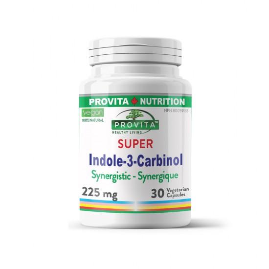 Indole-3-Carbinol sinergistic forte 225 mg, 30 caps, PROVITA-NUTRITION
