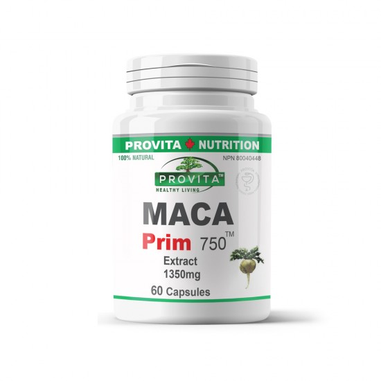 Maca Prim 750 mg, 60 caps, PROVITA-NUTRITION