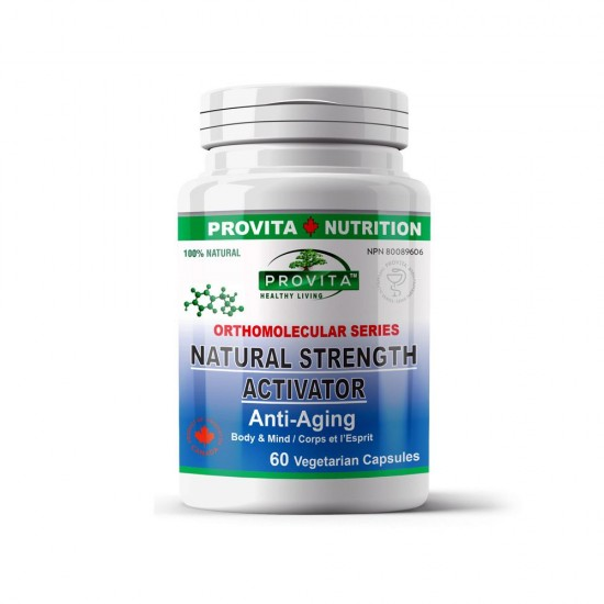 Natural Strength Activator Anti-Aging, 60 caps, PROVITA NUTRITION