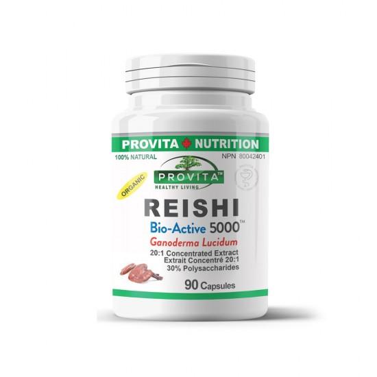 Reishi 5000 Ganoderma,  90 caps, PROVITA-NUTRITION