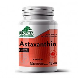 Astaxanthin forte – 15 mg, 30 caps, PROVITA-NUTRITION