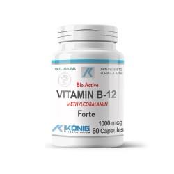 Vitamina B12 1000 mcg, 60 caps, Konig Nutrition Laboratoriums