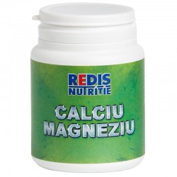 Calciu Magneziu, 120 caps, Redis