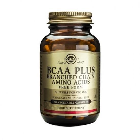BCAA Plus, 50 caps, SOLGAR