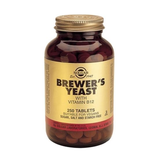 Brewer's Yeast 500mg, 250 tab, SOLGAR