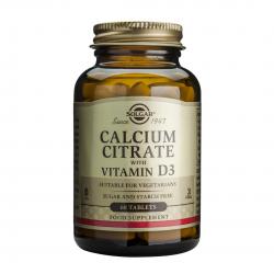 Calcium Citrate 250mg Cu D3, 60 tab, SOLGAR