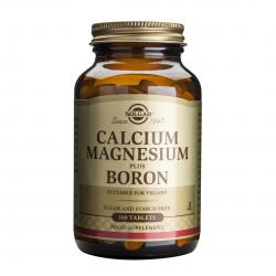 Calcium Magnesium Plus Boron, 100 tab, SOLGAR