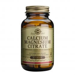 Calcium Magnesium Citrate, 50 tab, SOLGAR
