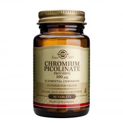 Chromium Picolinate 100mg, 90 tab, SOLGAR