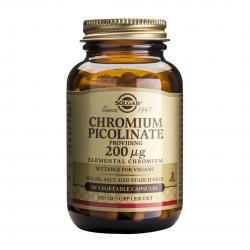 Chromium Picolinate 200 mcg, 90 caps, SOLGAR