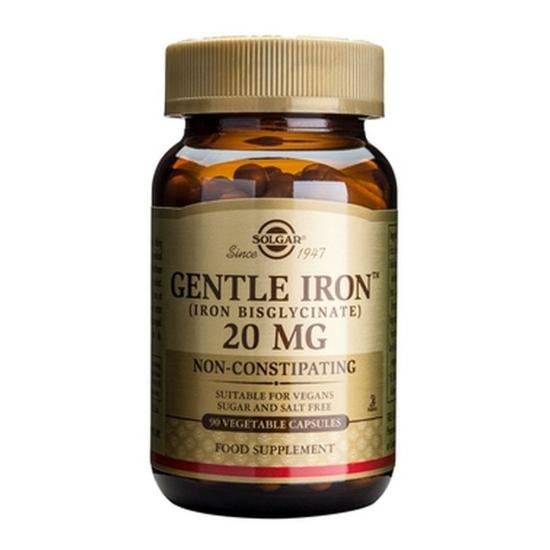 Gentle Iron 20mg, 90 caps, SOLGAR
