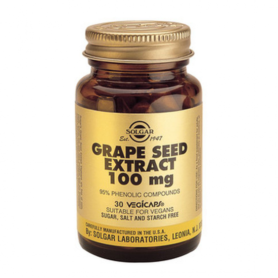 Grape Seed Extract 100 mg, 30 caps, SOLGAR