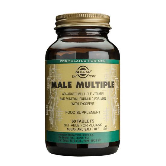 Male Multiple, 60 tabs, SOLGAR