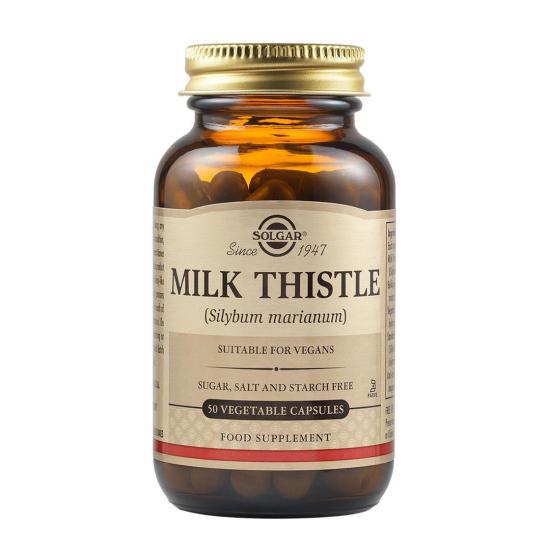 Milk Thistle, 50 caps, SOLGAR