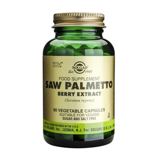 Saw Palmetto Berry Extract, 60 caps, SOLGAR