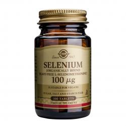 Selenium 100mcg, 100 tab, SOLGAR