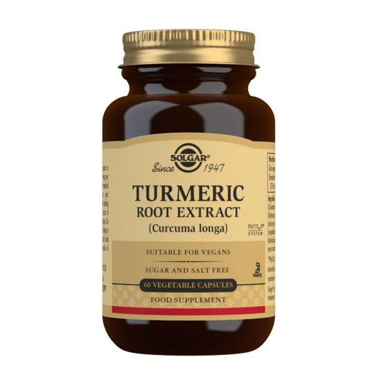 Turmeric Root Extract, 60 caps, SOLGAR