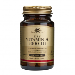 Vitamina A 5000 iu, 100 tab, SOLGAR