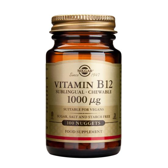 Vitamina B12 1000 mcg, 100 tab , SOLGAR