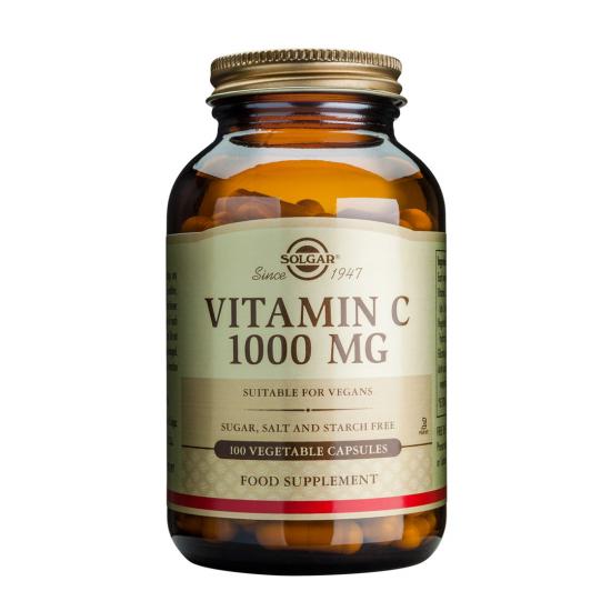 Vitamina C 1000mg, 100 tab, SOLGAR